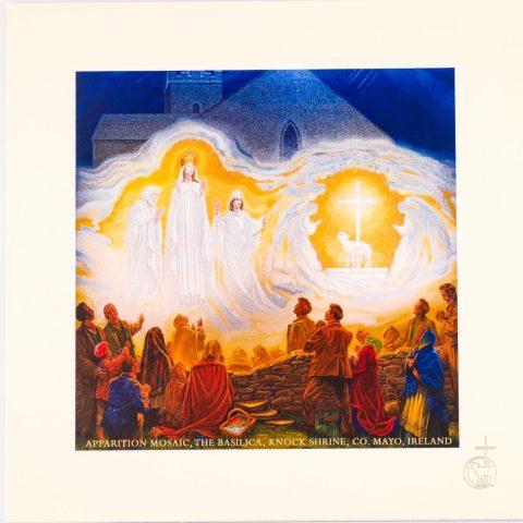 Apparition Mosaic Mounted Print