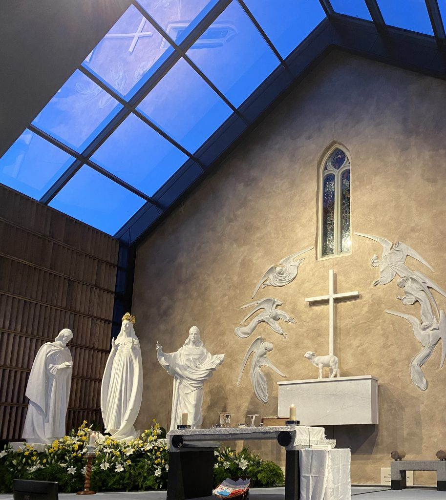 Apparition Chapel (3) at Knock Shrine 19_3_21 Photo Sinead Mallee