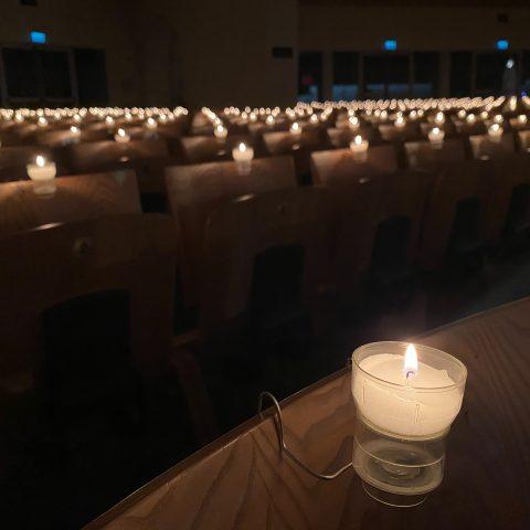 Candles at Knock Basilica