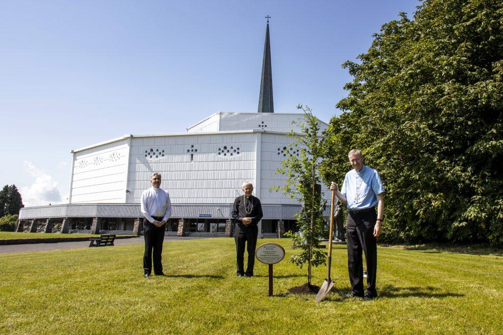 1. Planting of an Irish Oak Tree at Knock Shrine (See file info)
