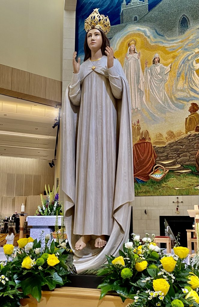 Pilgrim Statue of Our Lady of Knock, 15 Aug 2021, Sinead Mallee