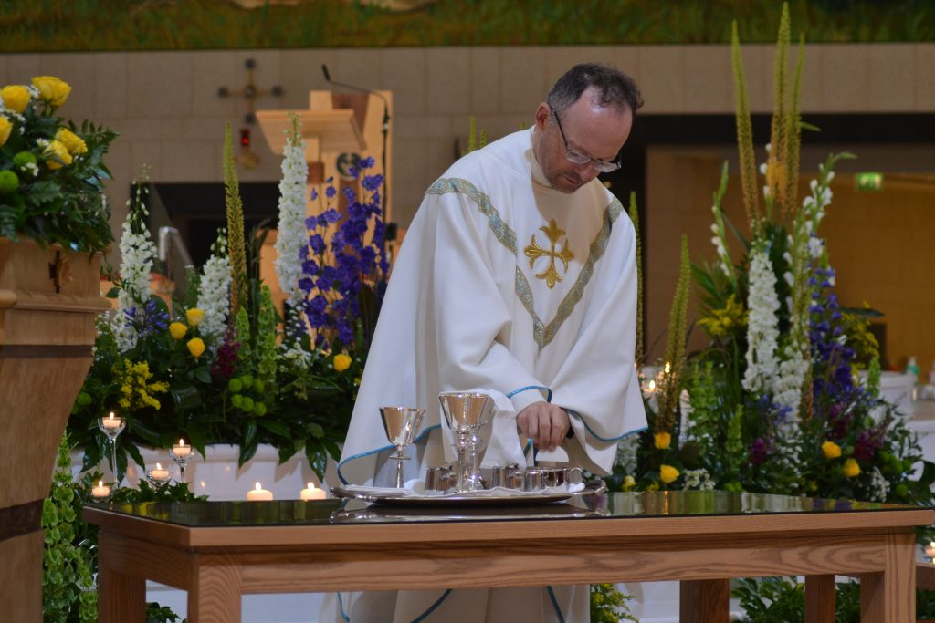Concelebrating Priest on 15th August 2021